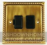 Monarch Roped Antique Bronze Fused Spur Switches